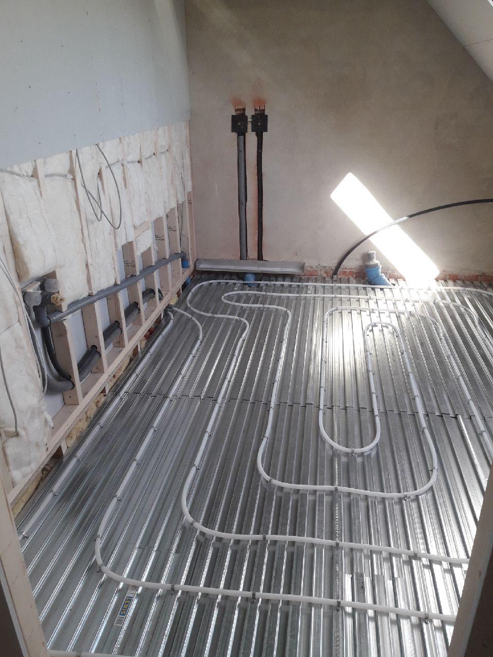 Picture of: Renovering Af 1 Sal Ved Kunde Olgod Vvs Og Energi